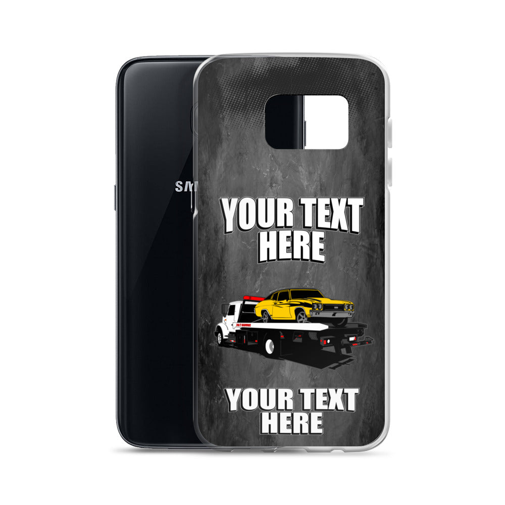 Rollback Tow Truck Samsung Phone Case Free Shipping