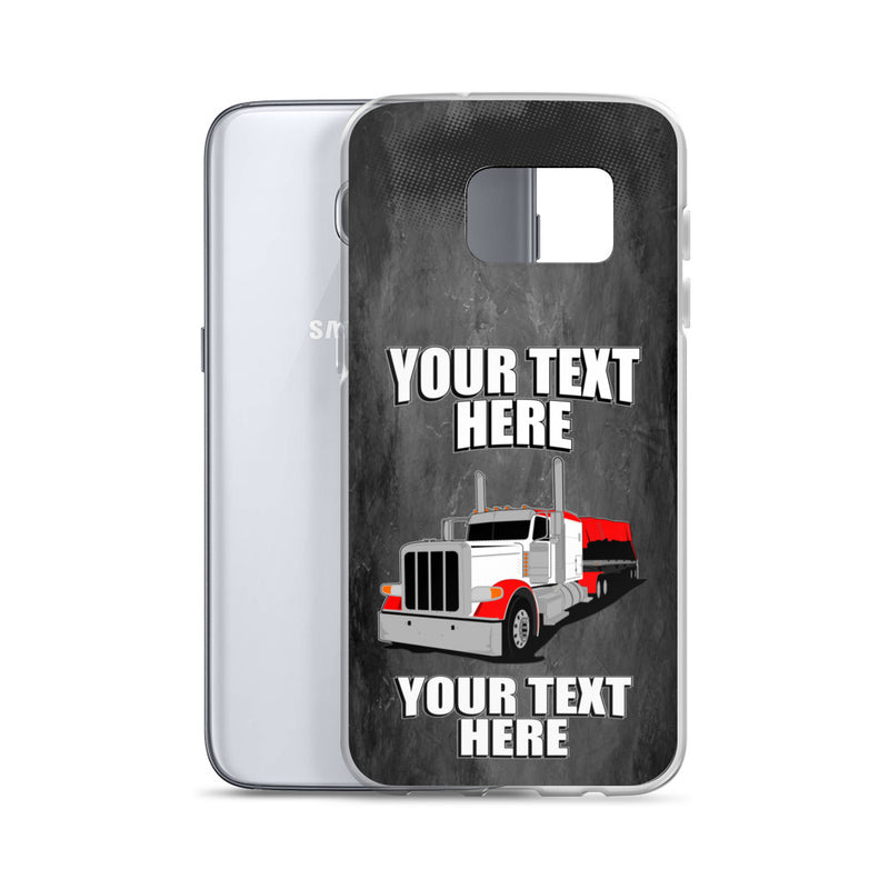 Pete Flatbed Your Text Here Samsung Case Free Shipping