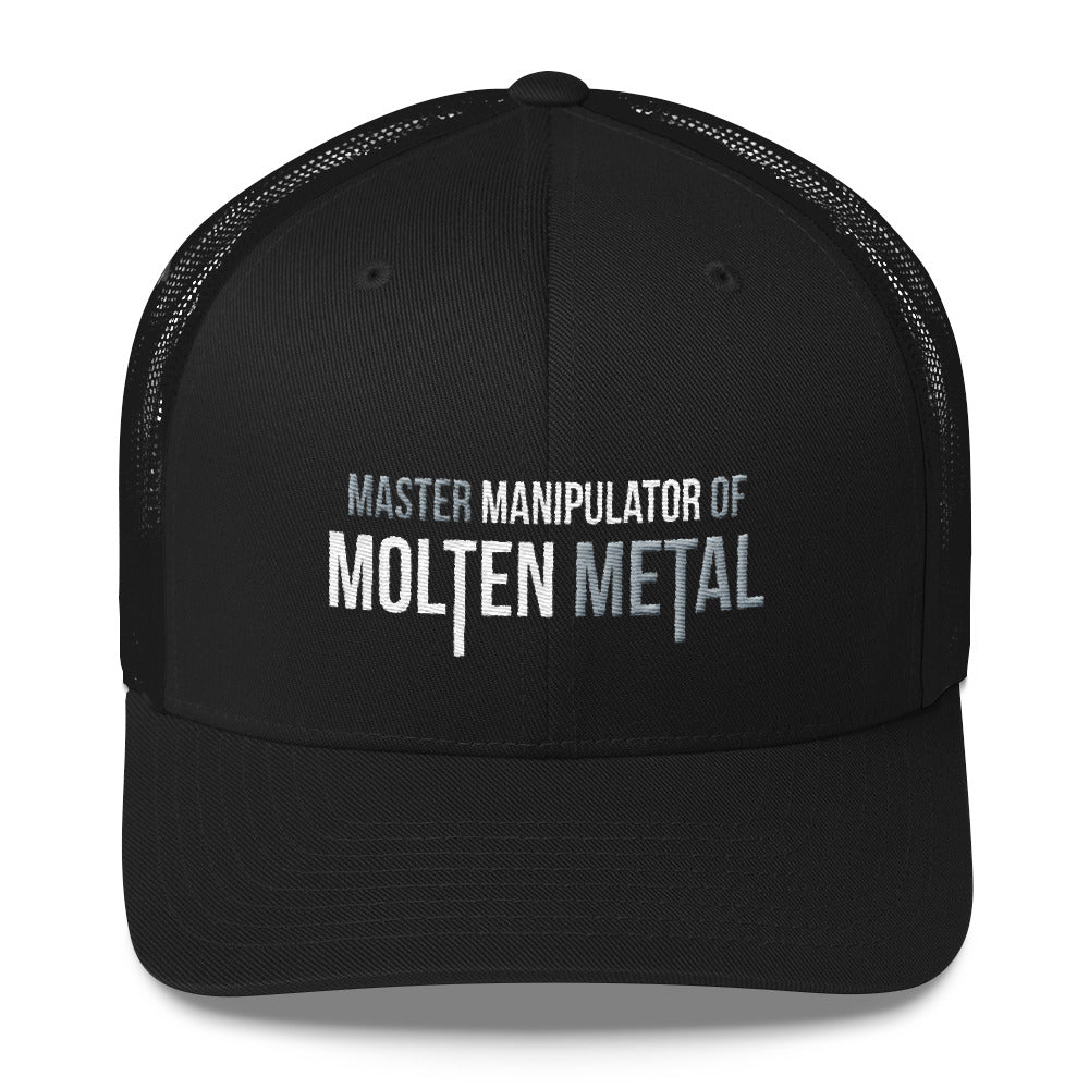Master Manipulator of Molten Metal Welder Snapback Hat Free Shipping