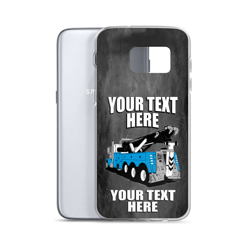 Wrecker Tow Truck Your Text Here Samsung Phone Case Free Shipping