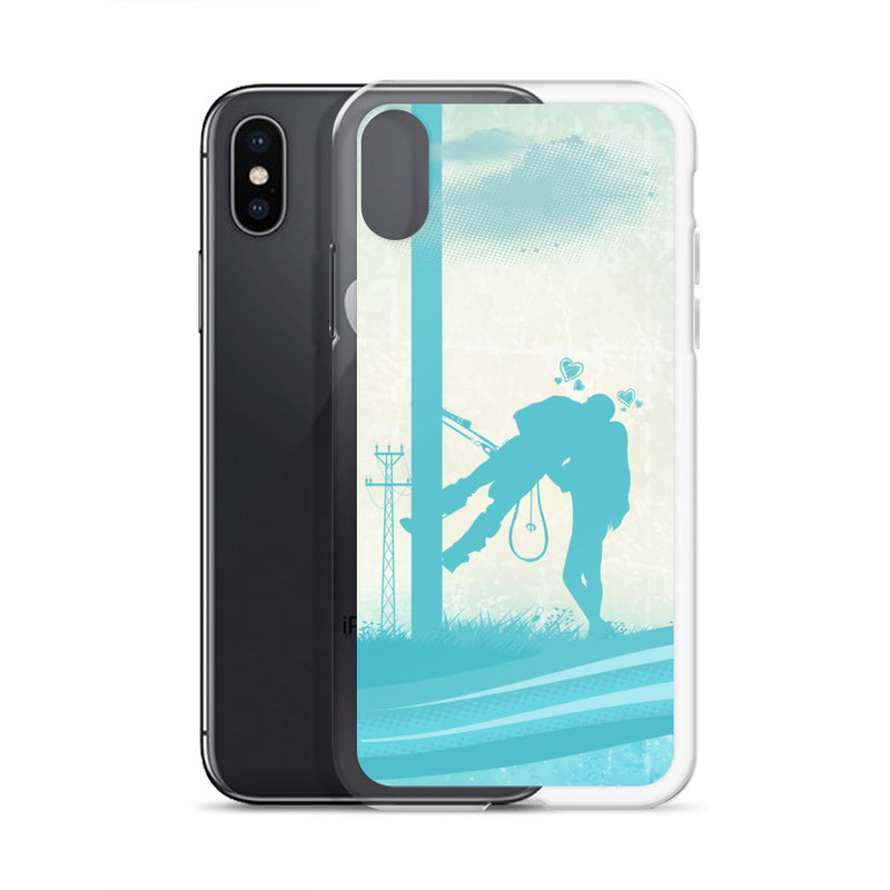 Lineman Kiss iPhone Case Free Shipping