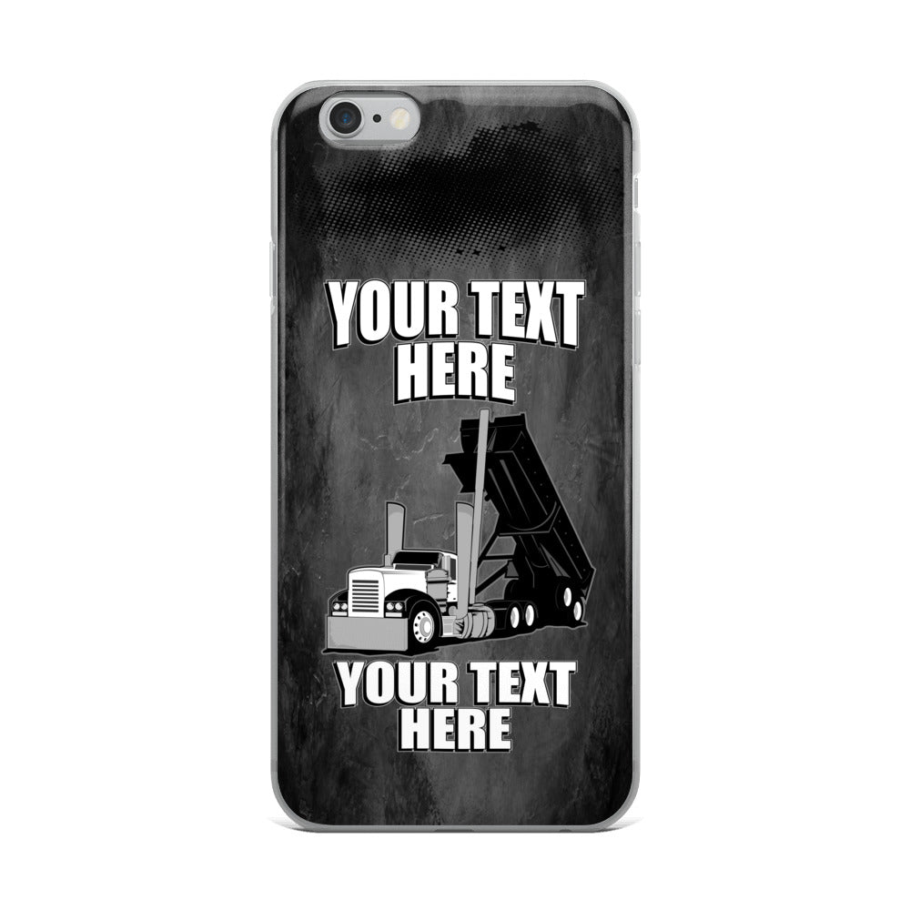 End Dump Your Text Here iPhone Case Free Shipping