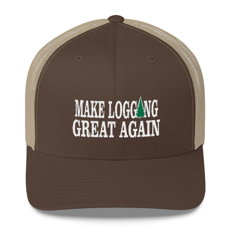 Make Logging Great Again Snapback Hat Free Shipping