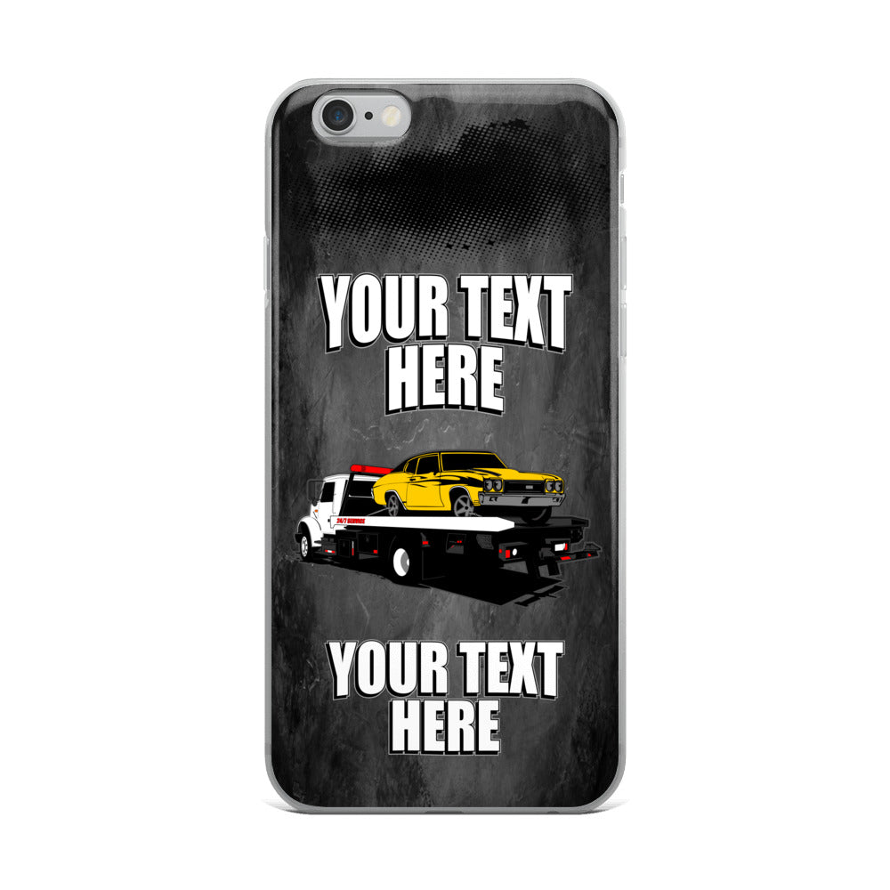 Rollback Tow Truck iPhone Case Free Shipping