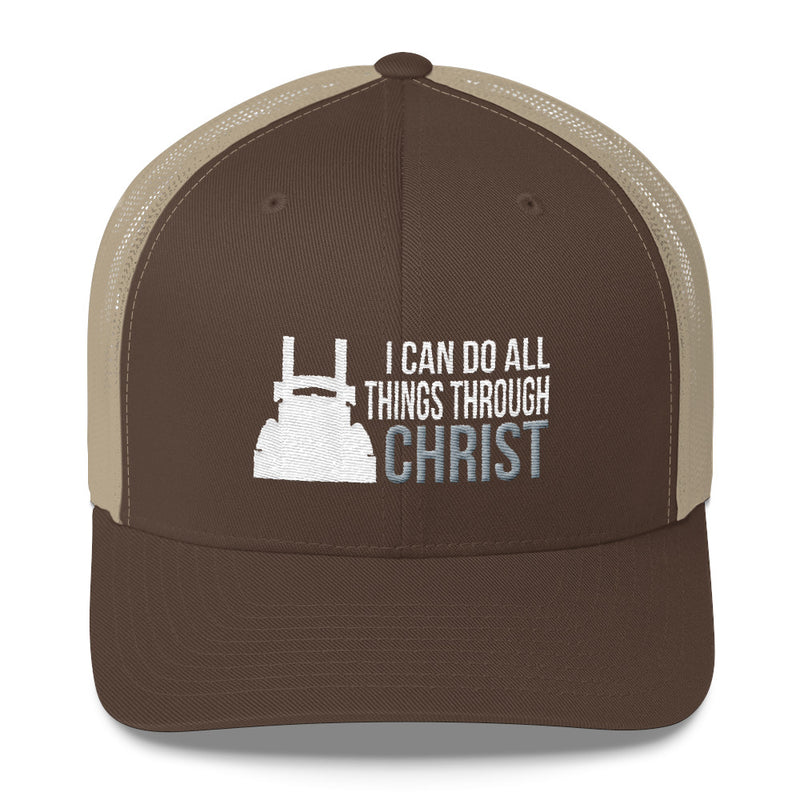 I Can Do All Things Through Christ Snapback Hat Free Shipping