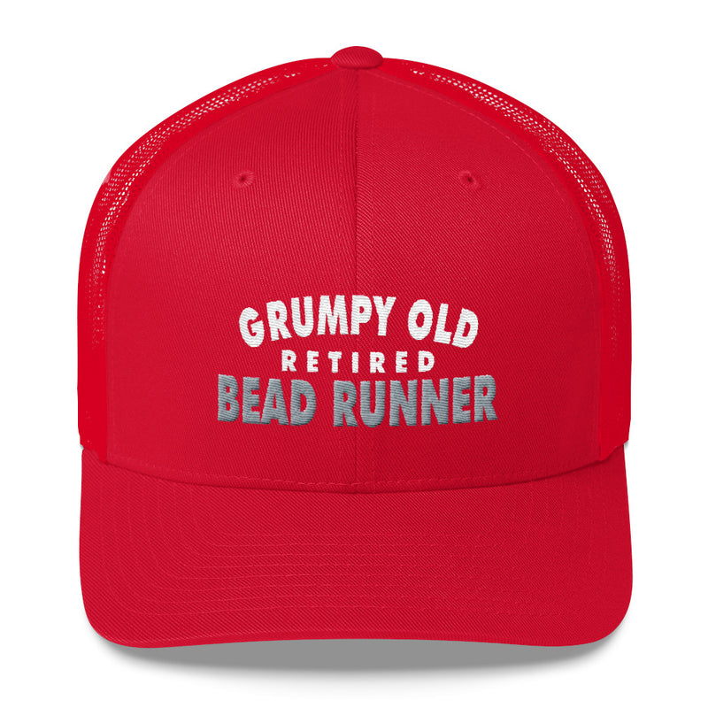 Grumpy Old Retired Bead Runner Welders Snapback Hat Free Shipping
