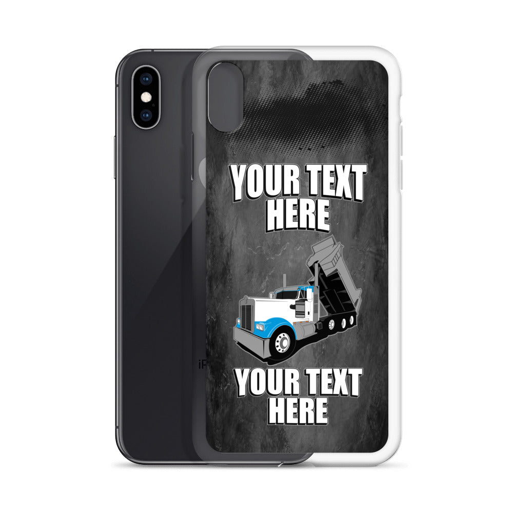 KW Dump Truck Your Text Here iPhone Case Free Shipping
