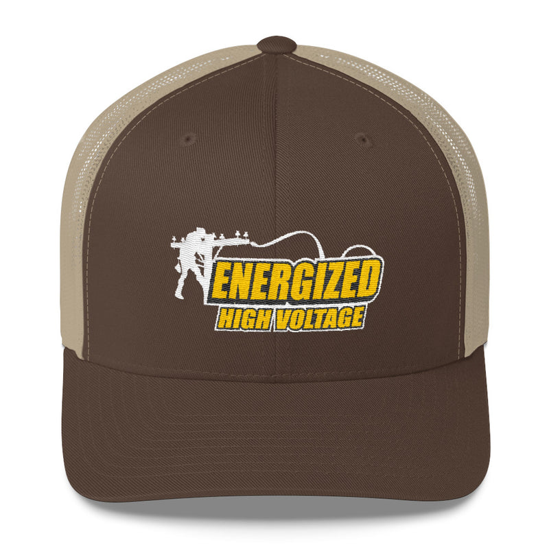 Lineman Energized High Voltage Snapback Hat Free Shipping