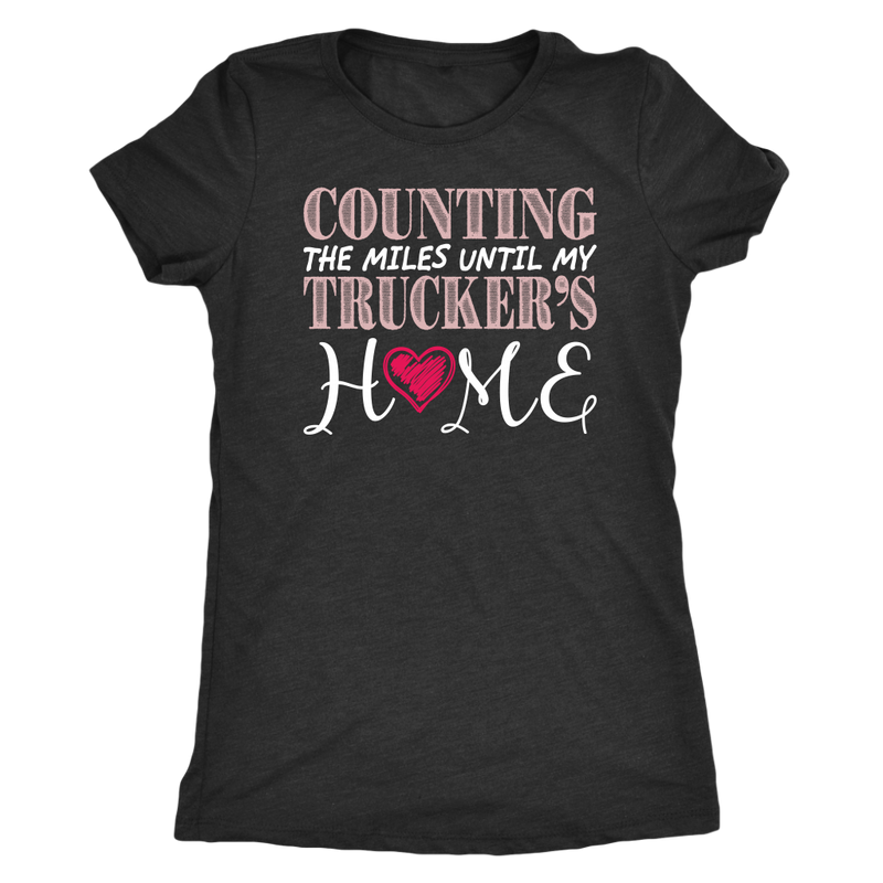 Counting The Miles Trucker Home
