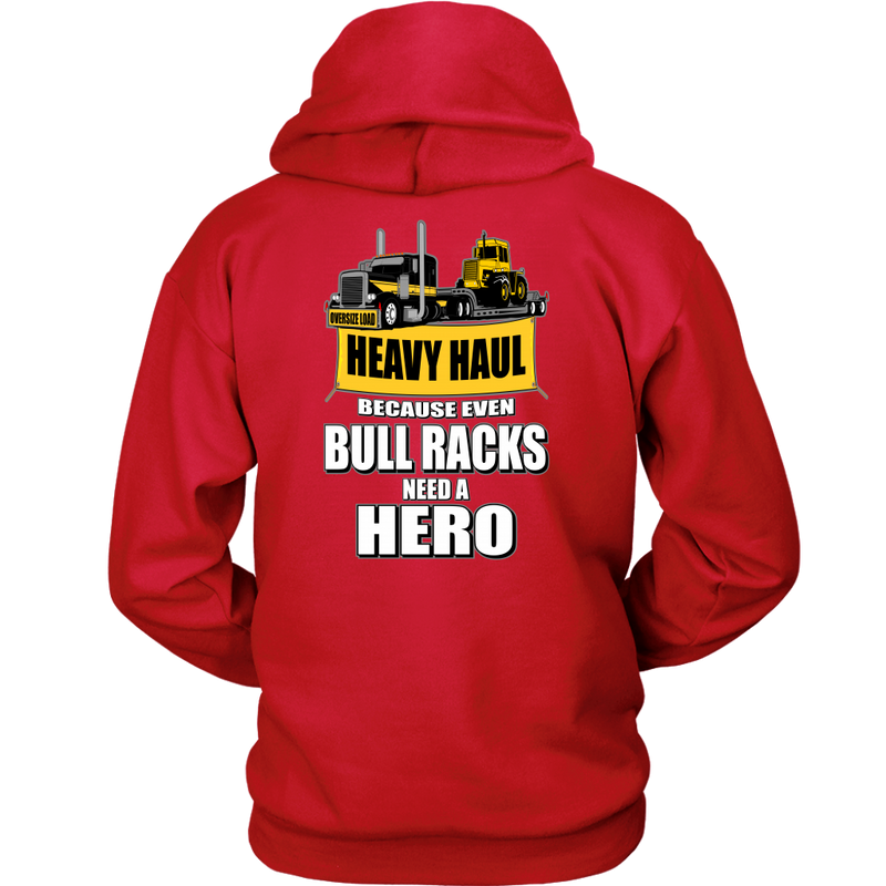 Heavy Haul Lowboy Pete Bull Racks Hero