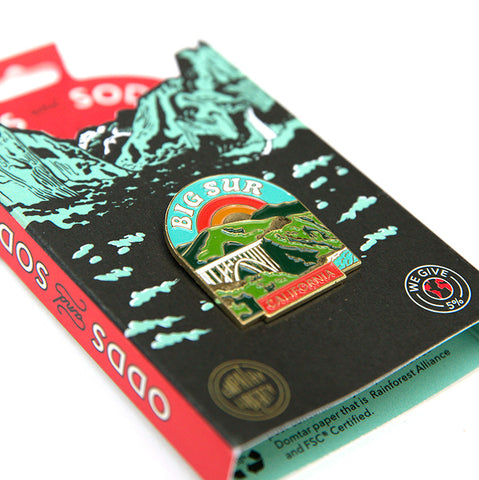 Enamel Pin - Big Sur
