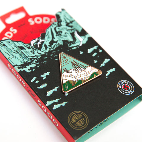 Enamel Pin - San Francisco