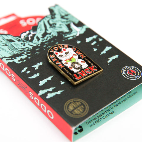 Enamel Pin - Lucky Cat