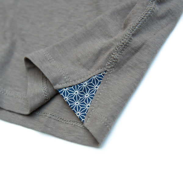 SEEKER DOLMAN TEE GREY