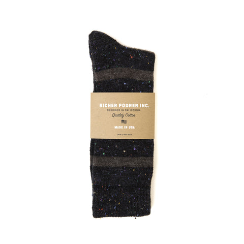 Richer Poorer - Stria Crew Socks