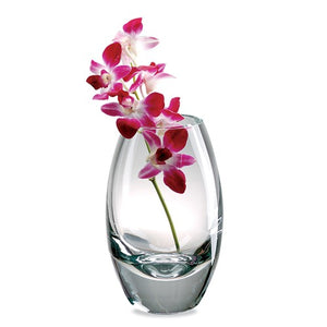 Badash® Crescendo Contemporary Crystal Vase - Roxx Fine Jewelry