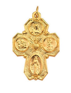 Geometric Four Way Cross - Roxx Fine Jewelry