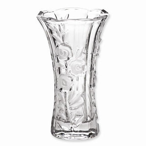 "Crystal Vase ""Abigail"" Large Vase for Long Stemmed Roses and Orchids - Roxx Fine Jewelry"