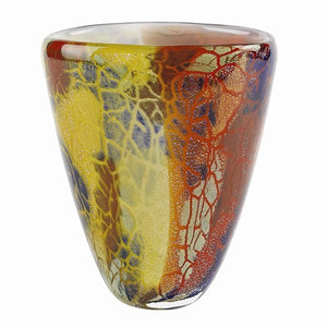 Badash® Crystal Firestorm Art Glass Vase - Roxx Fine Jewelry