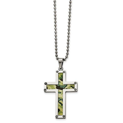 Green Camouflage Men's Jewelry - Roxx Fine Jewelry