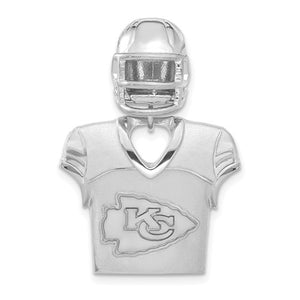 Kansas City Chiefs® NFL® Licensed Helmet and Jersey Necklace