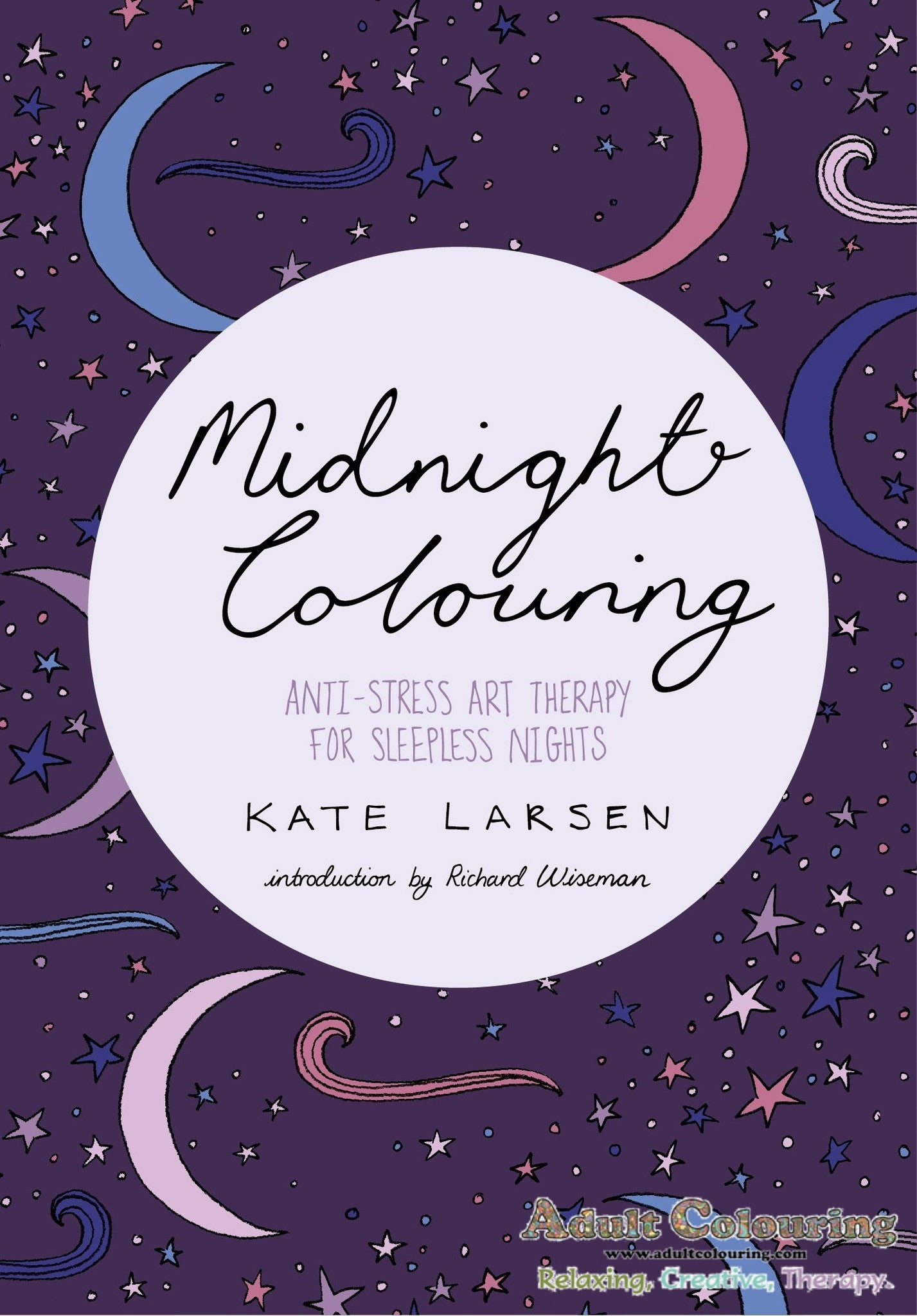 Anti stress colouring book free - Anti Stress Coloring Book Uk Midnight Colouring Anti Stress Art Therapy For Sleepless Nights Adult