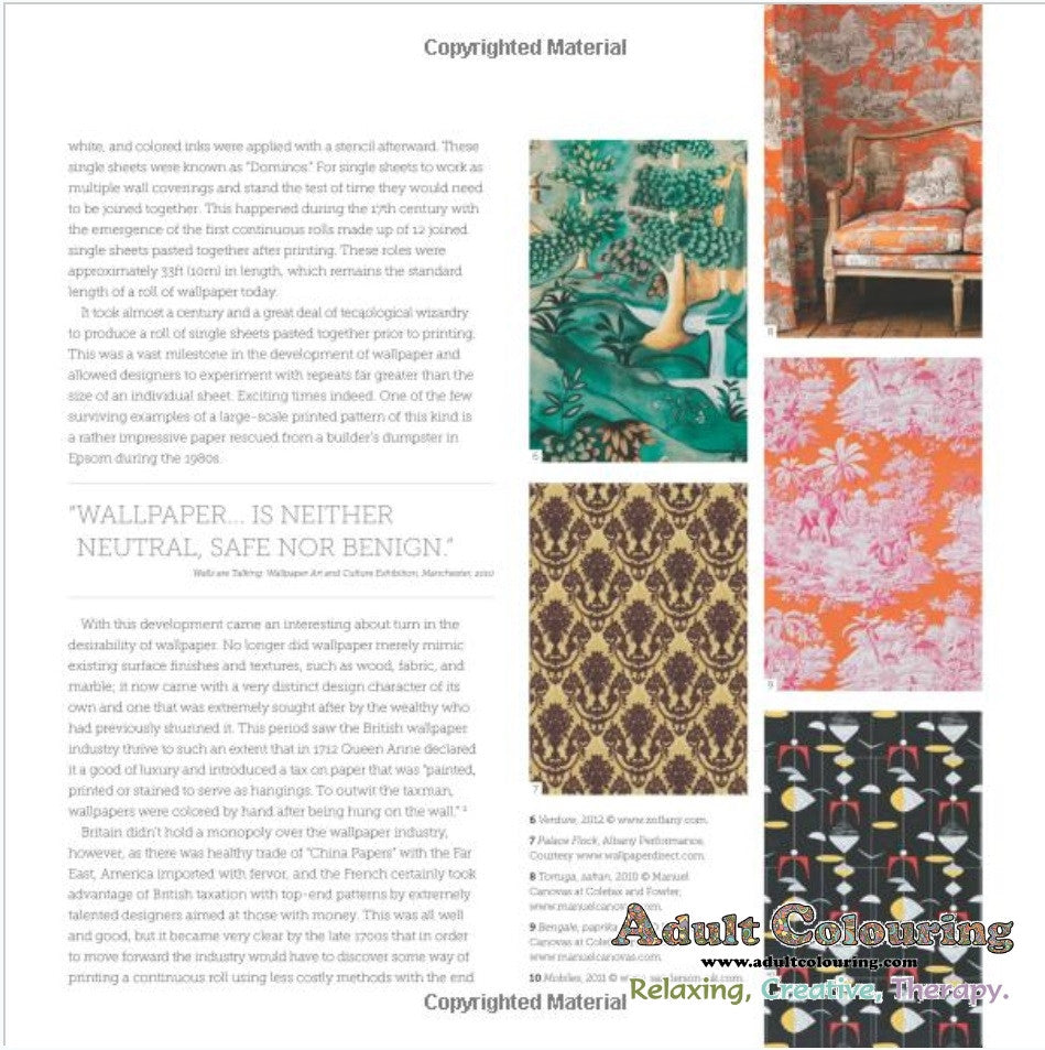 The wallpaper coloring book - The Wallpaper Colouring Book