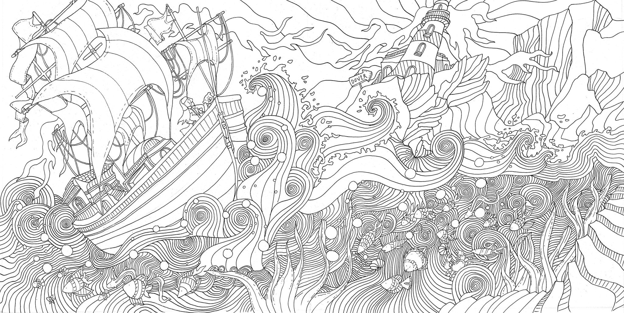 The enchanted forest colouring book nz - The Magical Journey A Colouring Book