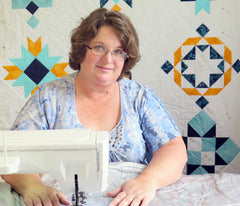 Amy K Johnson, Free Motion Quilting Instructor