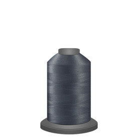 Glide Thread, #10424 Medium Grey 1000 meters, 40wt. Trilobal polyester