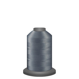 Glide Thread, #10536 Silver 1000 meters, 40wt. Trilobal polyester