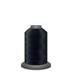 Glide Thread, #11001 Black 1000 meters, 40wt. Trilobal polyester