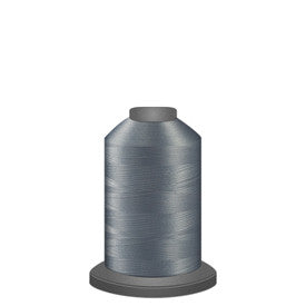 Glide Thread, #17543 Light Grey, 1000 meters, 40wt. Trilobal polyester