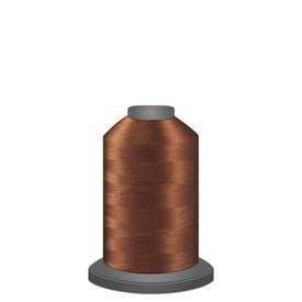 Glide Thread, #20464 Medium Brown 1000 meters, 40wt. Trilobal polyester