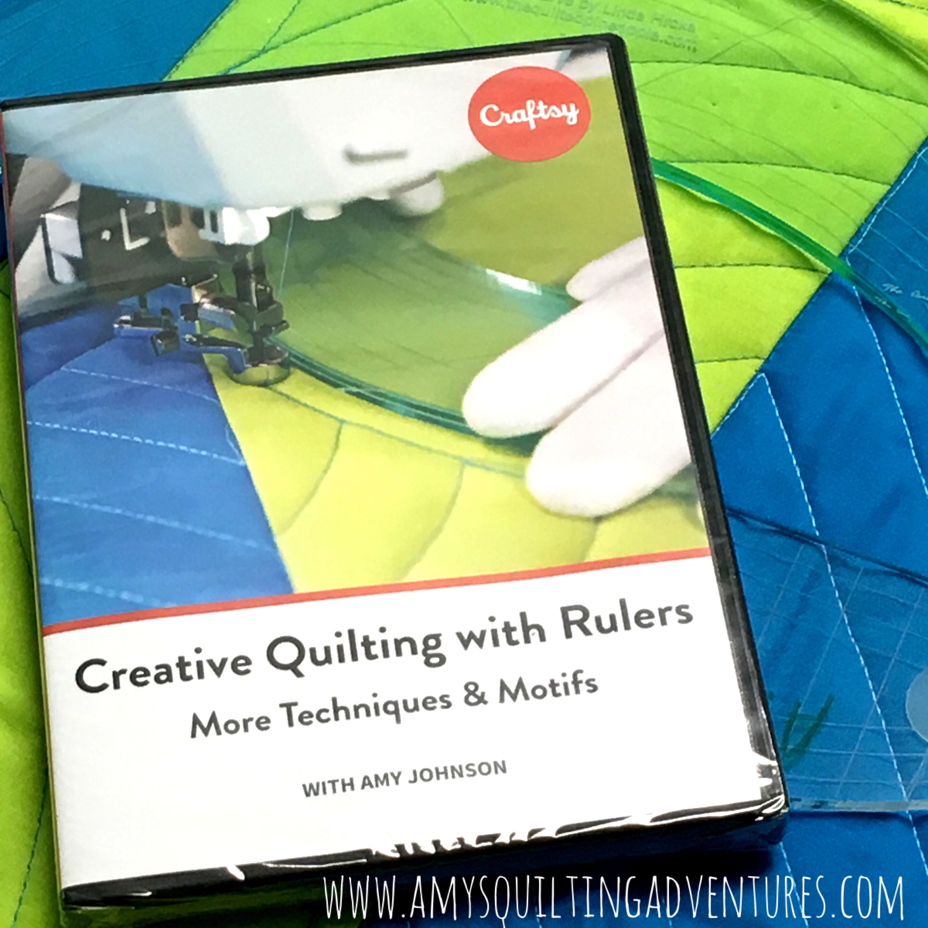 Creative Quilting with Rulers DVD for Ruler Work