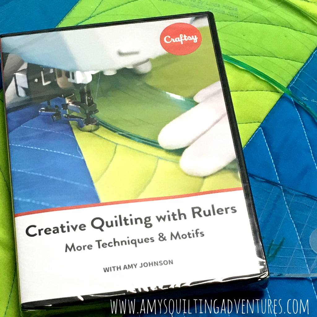 DVD Creative Quilting with Rulers, More Techniques and Motifs