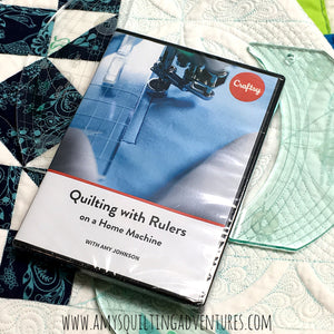 Quilting with Rulers on a Home Machine, Craftsy DVD