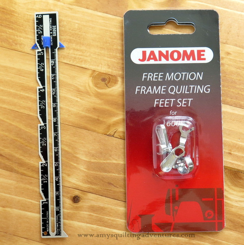 Janome Frame Quilting Foot Set Amy's Quilting Adventures Fascinating Ruler Foot For Brother Sewing Machine
