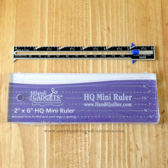 HQ Mini Ruler Straight