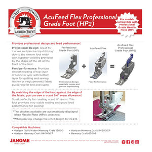 HP2 Acufeed Flex Foot