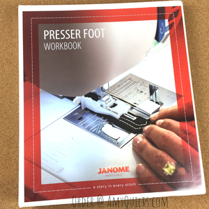 Janome Presser Foot Workbook