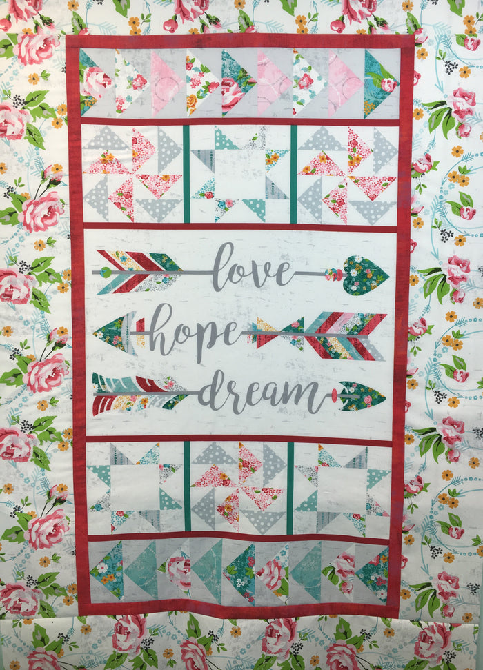 Roses and Arrows Quilt Along Kit