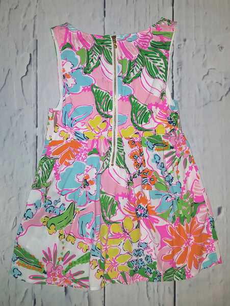 Lilly Pulitzer Nosey Posie Fit Flare Tank Top S