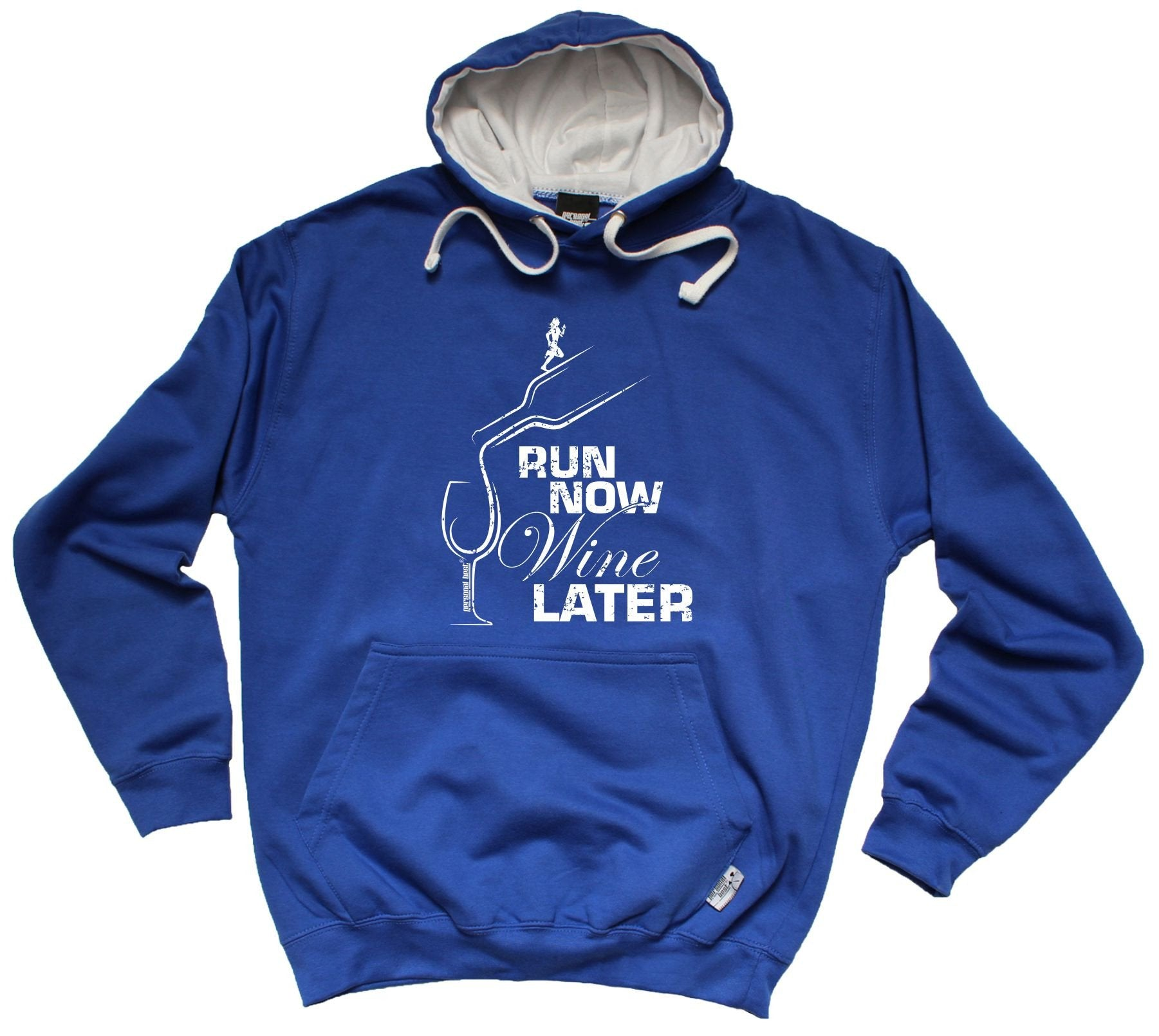 Run Now Wine Later - Funny t-shirts Hoodies & Sweatshirts
