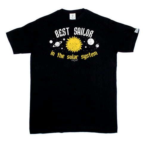 Ocean Bound Sailing Tee - Best Sailor In The Solar System - Mens T-Shirt