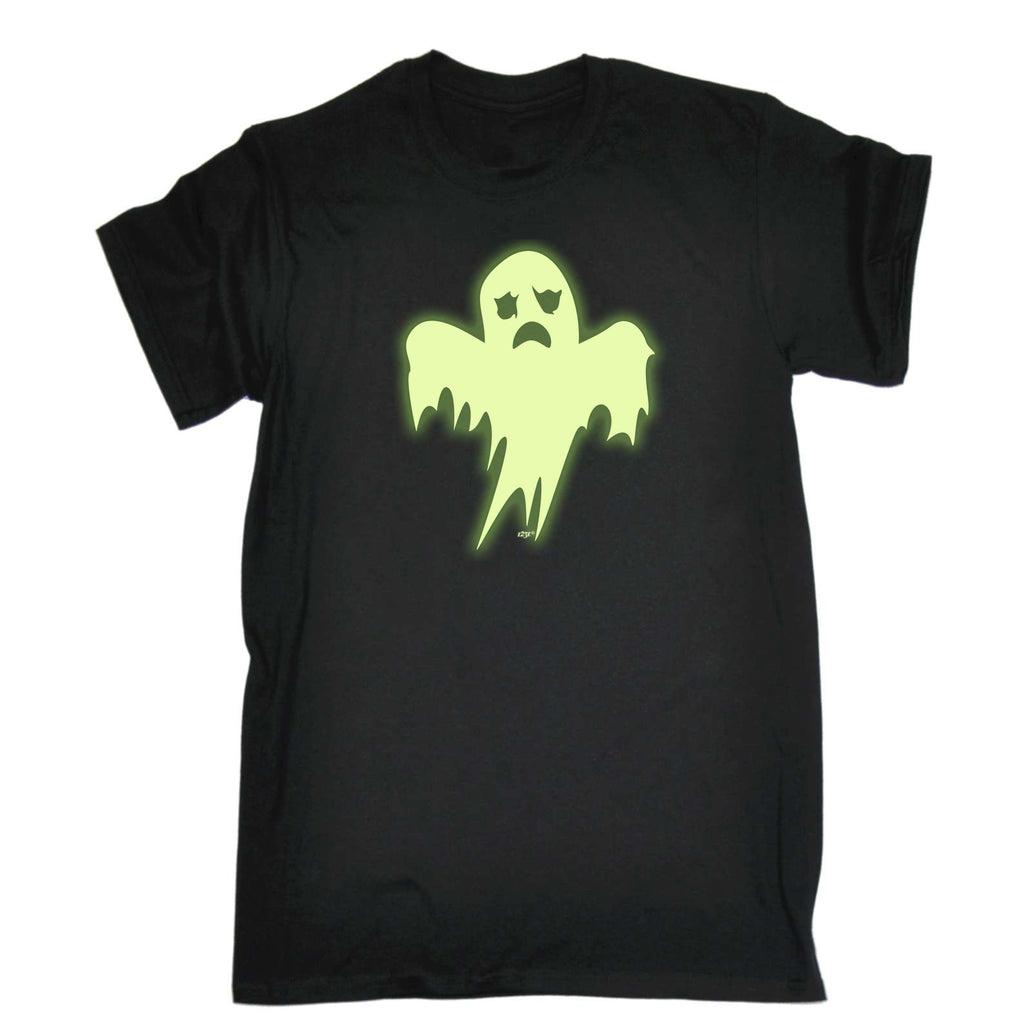 123t Kids Funny Tee - Ghost Glow In The Dark - Childrens Top T-Shirt T Shirt