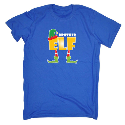 123t Kids Funny Tee - Christmas Elf Brother - Childrens Top T-Shirt T Shirt