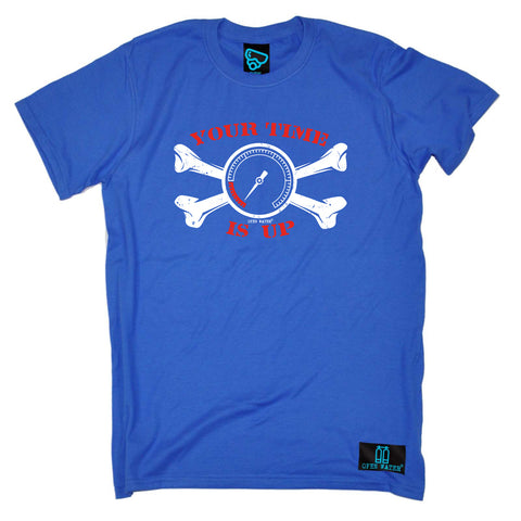 Open Water Scuba Diving Tee - Your Time Is Up - Mens T-Shirt