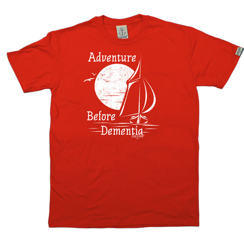 Ocean Bound Sailing Tee - Adventure Before Dementia - Mens T-Shirt