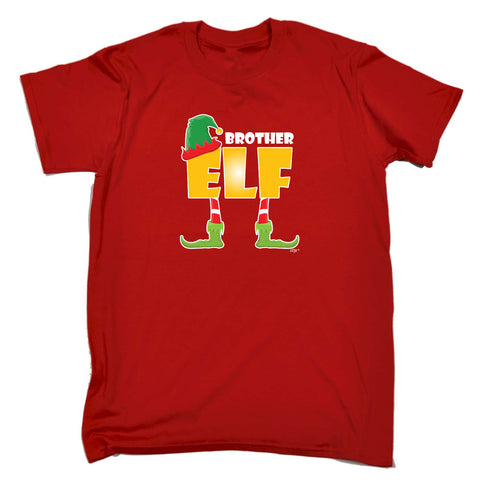 123t Funny Tee - Elf Brother - Mens T-Shirt